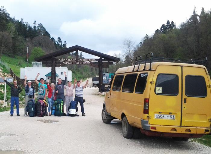 Транспортные услуги, транспорт через Каменномостский, Хаджох до Лаго-Наки - автобус Газель